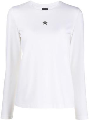 Lorena Antoniazzi star plaque longsleeved T-shirt