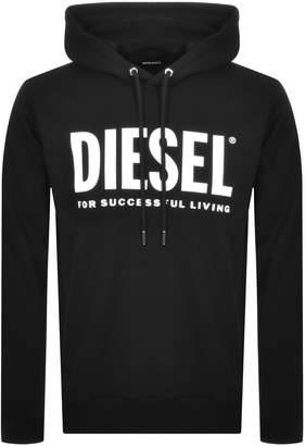Diesel Division Logo Hoodie Black
