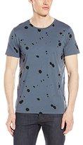 Theory Men's Marcelo Splash Print Jersey Short Sleeve T-Shirt