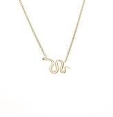 Ariel Gordon Snake Charm Necklace