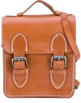 Les Coyotes De Paris - buckled satchel - kids - Calf Leather - One Size