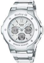 Baby-G Ladies' Stainless Steel Bracelet Watch