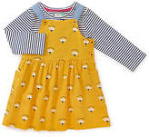 John Lewis Floral Dress and T-Shirt Set, Yellow