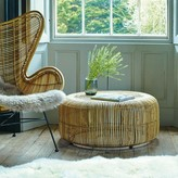 Graham and Green Round Rattan Coffee Table