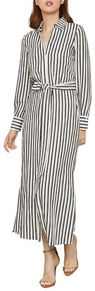 BCBGMAXAZRIA Striped Shirt Dress