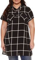 Boutique + Ashley Nell Tipton for + Tunic Top Plus