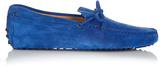 Tod's Laccetto suede driving shoes