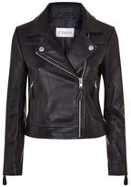 Claudie Pierlot Leather Biker Jacket