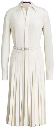 Ralph Lauren Dakota Pleated Shirtdress