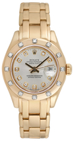 Rolex Vintage Ladies Pearlmaster Watch, 29mm