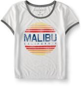 Malibu Ringer Crop Baby Tee