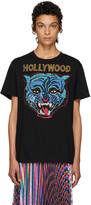 Gucci Black 'Hollywood' Tiger T-Shirt