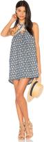 J.o.a. Lace Trim Halter Neck Dress