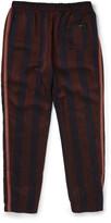 Bottega Veneta - Tapered Striped Satin Trousers