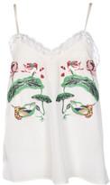 Stella Jean Embroidered Tank Top