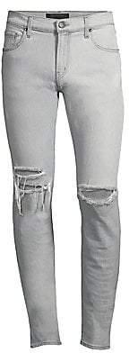J Brand Men's Mick Distressed Skinny Jeans