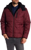 Izod Detachable Hood Puffer Jacket