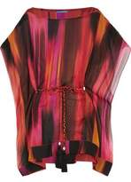 Matthew Williamson Printed Silk Kaftan