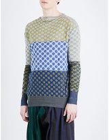 Vivienne Westwood Diamond-pattern Cotton-jersey Jumper