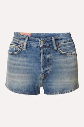 Acne Studios Magee Denim Shorts - Mid denim