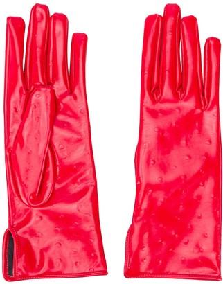 MSGM Dot-Detailed Gloves