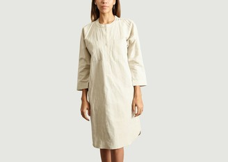 Folk Shirt Dress - 2