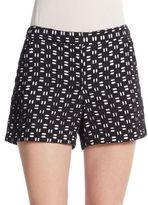 Vince Camuto Dash-Eyelet Shorts
