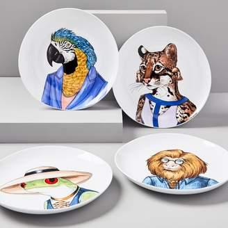 west elm Dapper Animal Salad Plates