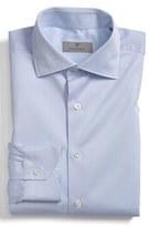 Canali Men's Regular Fit Dobby Dress Shirt