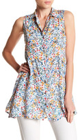 Casual Studio Floral Sleeveless Tunic