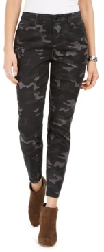 Style&Co. Style & Co Printed Curvy Skinny Jeans, Created for Macy's