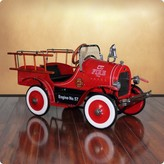 The Well Appointed House Dexton Deluxe Fire Truck Pedal Car for Kids