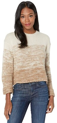 Carve Designs Estes Ombre Sweater (Caramel Fade) Women's Clothing