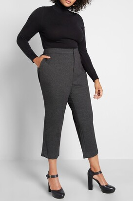 ModCloth As Classic As They Come Skinny Crop Pants