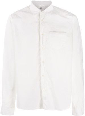 C.P. Company plain slim-fit shirt