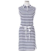 Nautica Striped Polo Dress