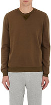 ATM Anthony Thomas Melillo MEN'S COTTON-BLEND VELOUR-FACED SWEATER