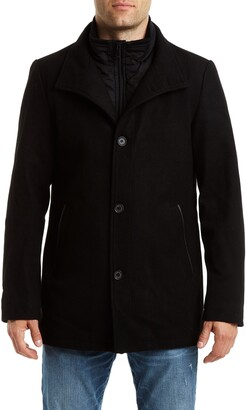 Vince Camuto Short Wool Blend Car Coat
