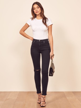 Reformation High & Skinny Jean