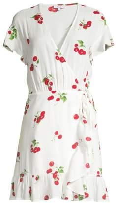 Rails Koreen Cherry Print Wrap Dress