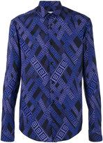 Versace printed shirt - men - Cotton/Spandex/Elastane - 40