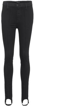 J Brand Maria Stirrup skinny jeans
