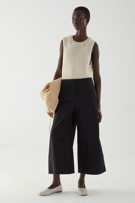 Cos Cotton Turn Up Culottes