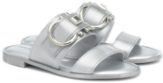 Salvatore Ferragamo Taryn metallic sandals