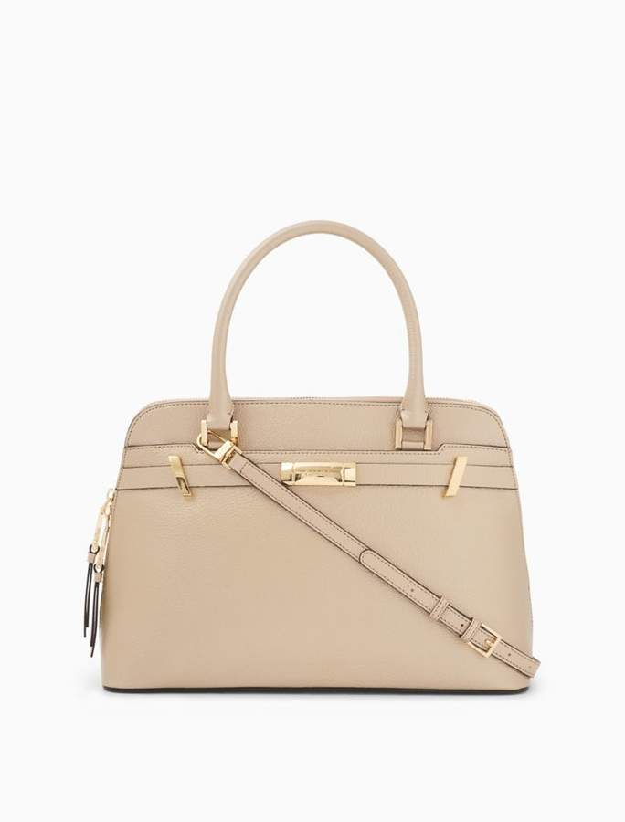 Calvin Klein leather satchel