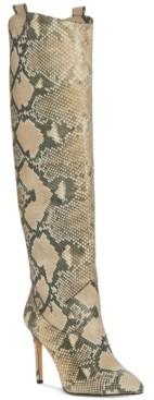Vince Camuto Women's Kervana Stiletto-Heel Dress Boots Women's Shoes