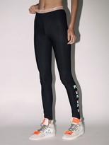 Off-White Off White Lvr Exclusive Viscose Blend Leggings