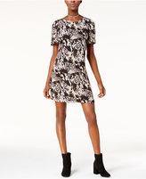 Kensie Animal-Print Sheath Dress