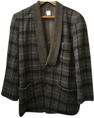 Issey Miyake Brown Wool Jackets