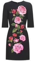 Dolce & Gabbana Printed Crêpe Dress
